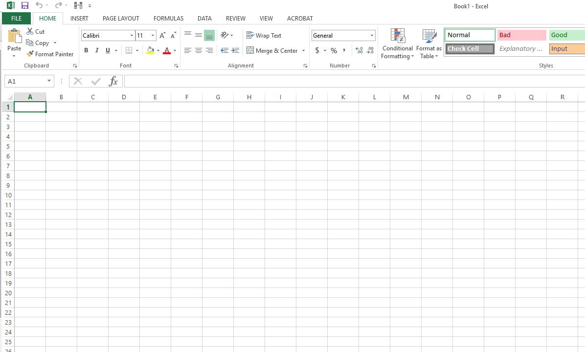 Remove blank rows from an Excel spreadsheet