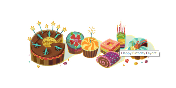 Thanks for the birthday shout out, Google…